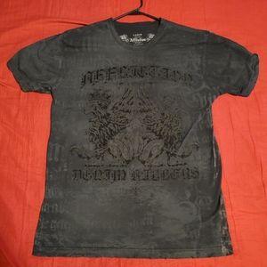 Affliction Black Short Sleeve Shirt